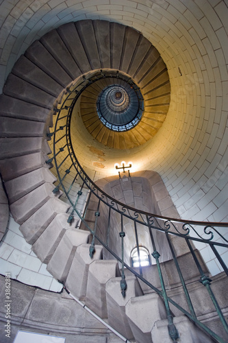 Fototapety, obrazy: lighthouse staircase 1