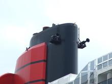 Queen Mary 2 Schornstein