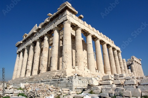 The Parthenon, in Athens