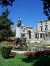 Corfu Statue