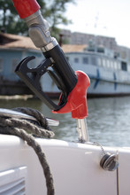 A Gas  Pump For Boat