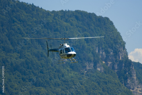 Fotografie, Obraz  Helicopter in acrobations during airshow