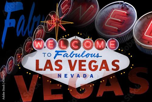 Poster Las Vegas Welcome to Fabulous Las Vegas