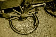 Broken Wagon Whell