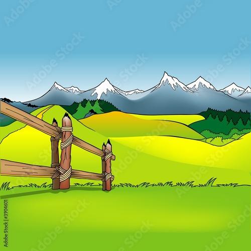 Foto-Stoff - Cartoon Background 12 (von Roman Dekan)