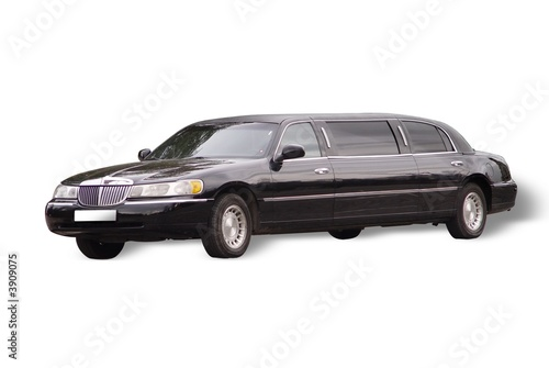 Photographie  Big black limousine