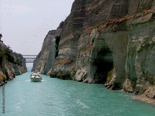 Fototapeta Corinth canal