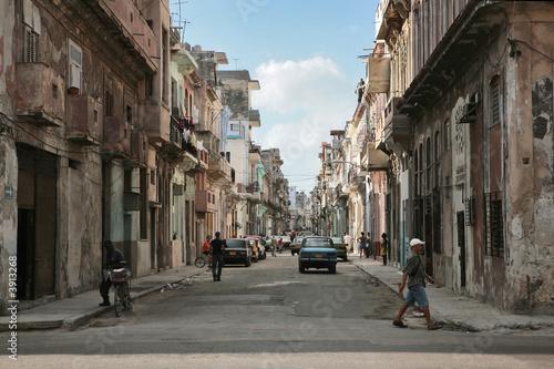 fototapeta na ścianę Hawana miasto popołudniu Kuby 2007