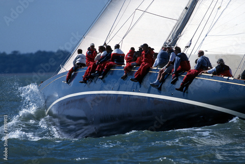 Fotografie, Obraz  America´s Cup Jubilee / Cowes