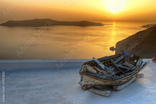 Foto Rollo Basic - Santorini (von refresh(PIX))