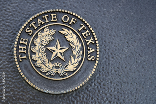 Foto op Canvas Texas Texas Seal