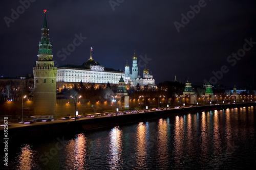 Canvas Print Kremlin Moscow