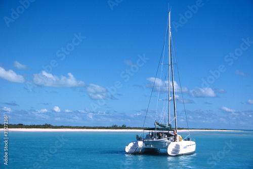 Foto-Schiebegardine Komplettsystem - Platinum / Star Dust / Karibik