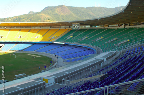 La pose en embrasure Stade de football Maracana
