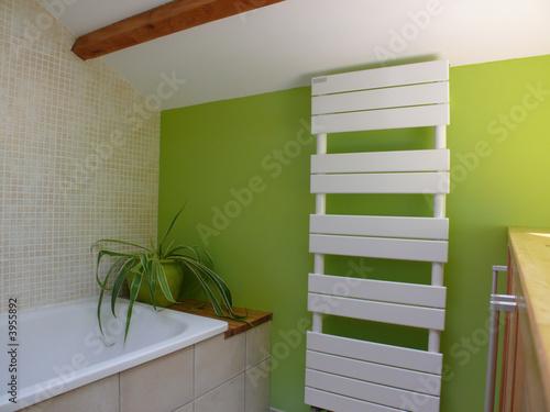 salle de bain Fotobehang