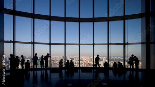 Fotografie, Tablou  Observing Tokyo
