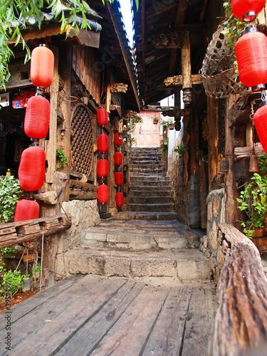 Tuinposter China Lijiang City China