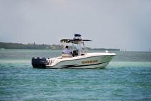 Sheriff On Patrol In Florida Waterway