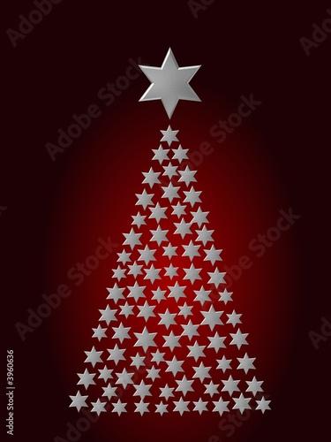 Weihnachtsbaum Rot Silber.Weihnachtsbaum Sterne Silber Rot Kaufen Sie Diese Illustration Und