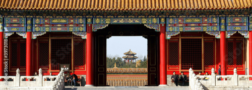 Tuinposter China Verbotene Stadt Peking 4