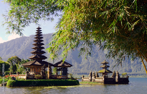 Tuinposter Indonesië Bali Water Temple