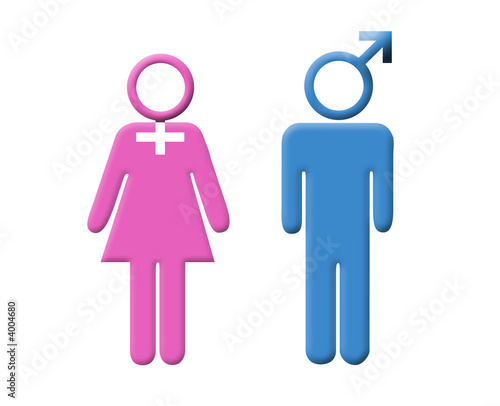 Mann-Frau-Symbol - kaufen Sie diese Illustration und