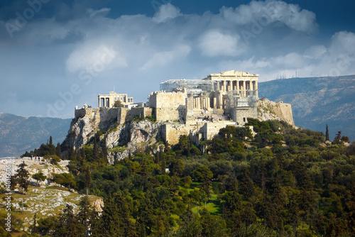 Staande foto Athene Akropolis