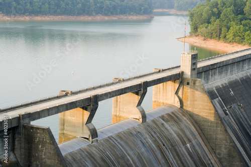 Fotobehang Dam Norris Dam