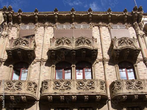 Photographie  Caltagirone palazzo delle Magnolie (Via don L. Sturzo)