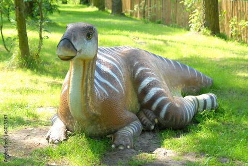 Fotografie, Tablou  Iguanodon bernissartensis, Iguanodon