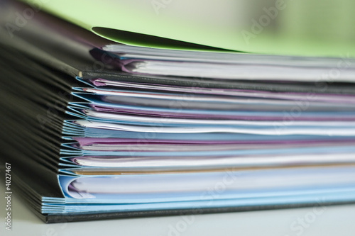 Photo dossier papier