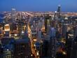 Chicago zur Blauen Stunde