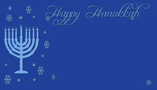 Hanukkah In Blue