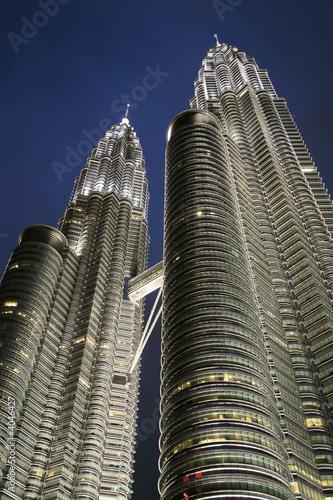 Canvas Prints Kuala Lumpur Petronas towers at dusk , Kuala Lumpur