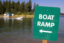 Boat Dock Sign