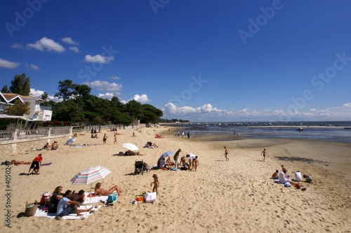 Photo plage d'andernos