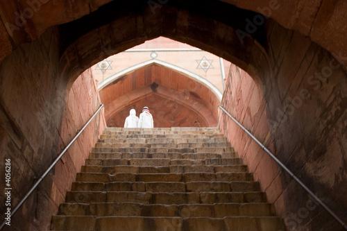 Printed kitchen splashbacks Delhi stairway
