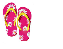 Isolated Pretty Flip Flops