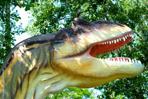 Fotografie, Tablou  Allosaurus fragilis, Allosaur, dinosaurs series