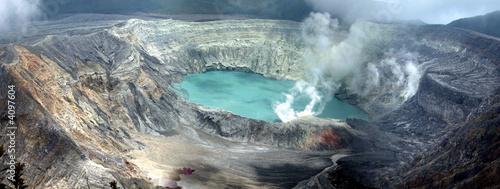 Poaz Volcano Wallpaper Mural