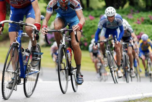 Foto Fahrradrennen