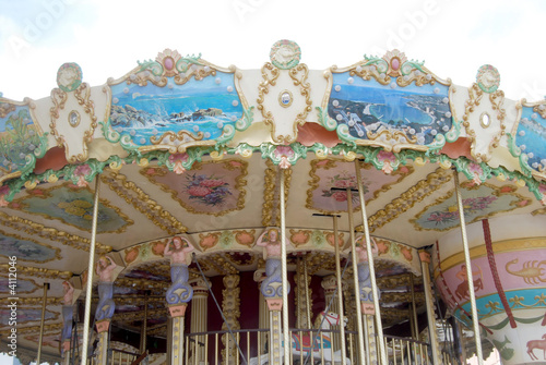 Poster Attraction parc Carrousel