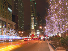 Christmas Time In Chicago