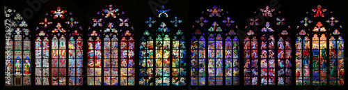 Fotografija St Vitus Stained Glass Window collection
