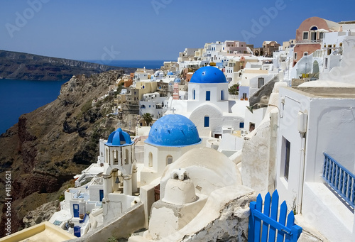Canvas Prints Cyprus Santorini