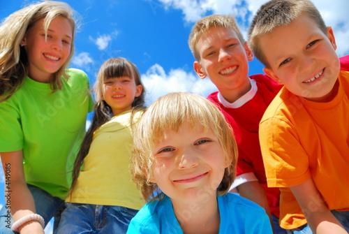 Fotografie, Obraz happy kids