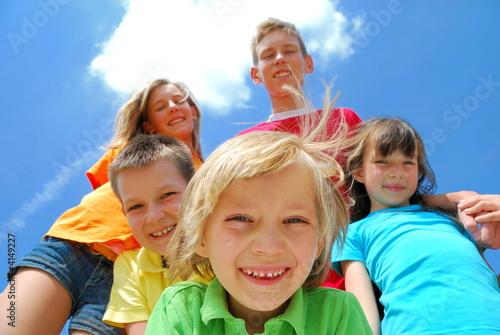 Obraz na plátně happy kids