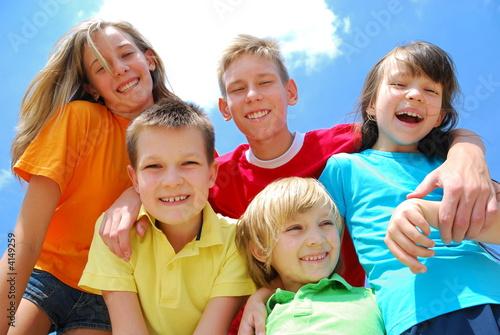 Obraz na plátně happy children