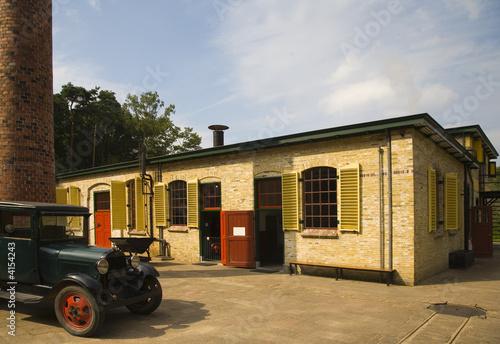 Poster Artistique Old factory