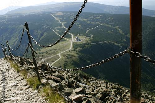 Fototapeta The Karkonosze Mountain 07 obraz